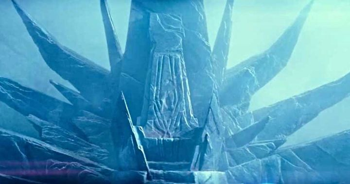 Emperor S Throne In The Rise Of Skywalker Is Based On Return Of The Jedi Concept Art
