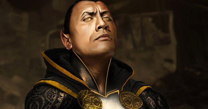 Shazam Canceled, Black Adam Becomes Man of Steel 2 Villain?