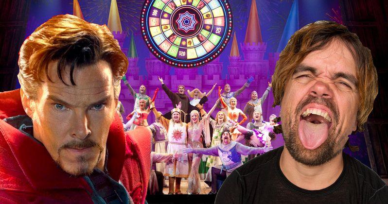 Spamalot Movie Eyes Benedict Cumberbatch and Peter Dinklage