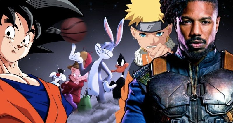 Michael B. Jordan Fans Want Him to Star in Anime Space Jam Remake