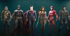 Justice League Concept Art and New Batsuit Details Emerge