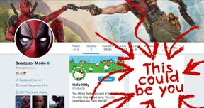 Deadpool Wants You to Be His Second Twitter Friend
