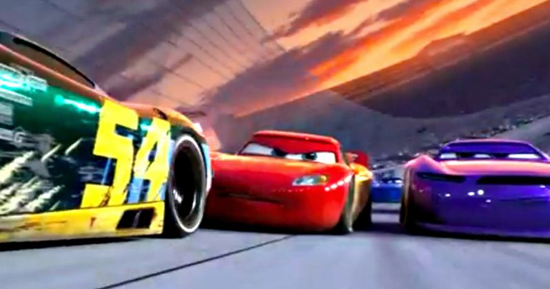Cars 3 Trailer #3 Takes Lightning McQueen to the Finish Line
