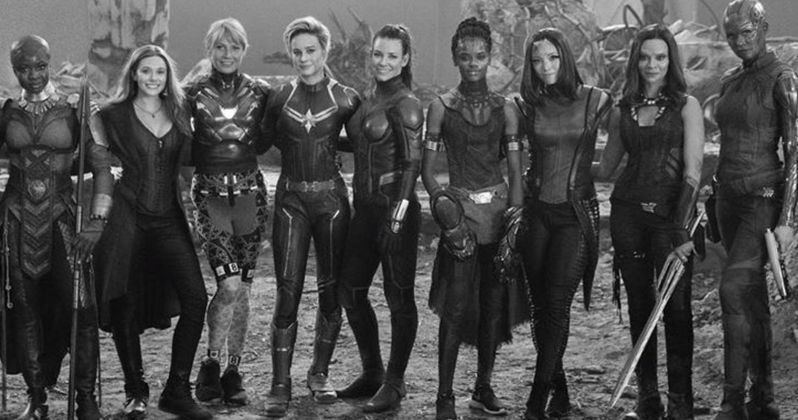 Marvel's A-Force Assembles: Female Avengers Unite in Endgame Set Photo