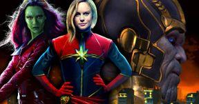 Captain Marvel, Guardians & More Confirmed for Avengers: Infinity War
