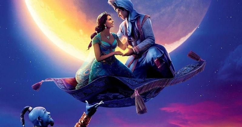Zayn & Zhavia Ward Sing A Whole New World in Aladdin Music Video