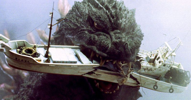 Godzilla Footprint Discovered on Japanese Beach