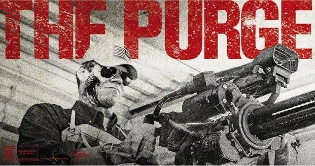 11 The Purge: Anarchy Posters Bring Mayhem to the Streets of America