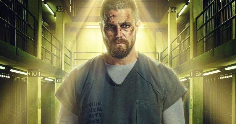 Arrow Season 7 Poster Has Oliver Locked Up and Badly Beaten