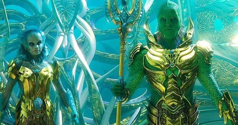 Fisherman King Rules the Ocean in New Aquaman Photo