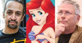 Disney's Live-Action Little Mermaid Teams Lin-Manuel Miranda & Alan Menken