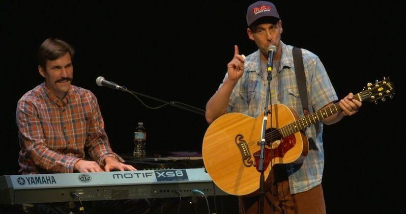 Watch Adam Sandler Sing New Version of the Chanukah Song