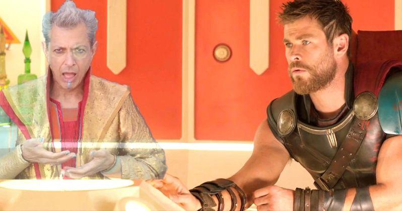 Thor: Ragnarok Deleted Scene Gets Weird with Jeff Goldblum