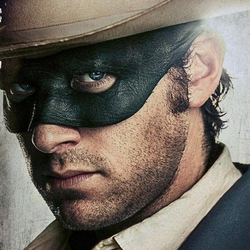 The Lone Ranger Poster with Armie Hammer