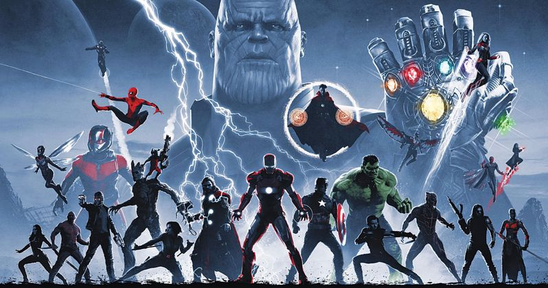 Marvel's Infinity Saga Blu-Ray Box Set Art Unveiled