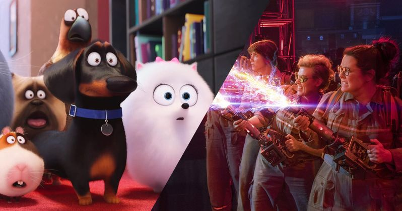Secret Life of Pets Beats Ghostbusters at the Box Office