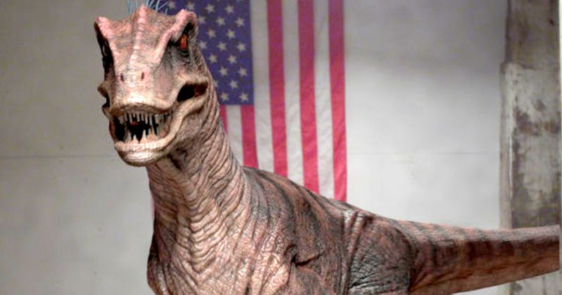 Cowboys Vs Dinosaurs Clip Has Raptors on the Hunt | EXCLUSIVE