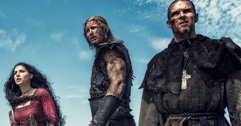 Northmen: A Viking Saga Photos with Ryan Kwanten & Ed Skrein | EXCLUSIVE