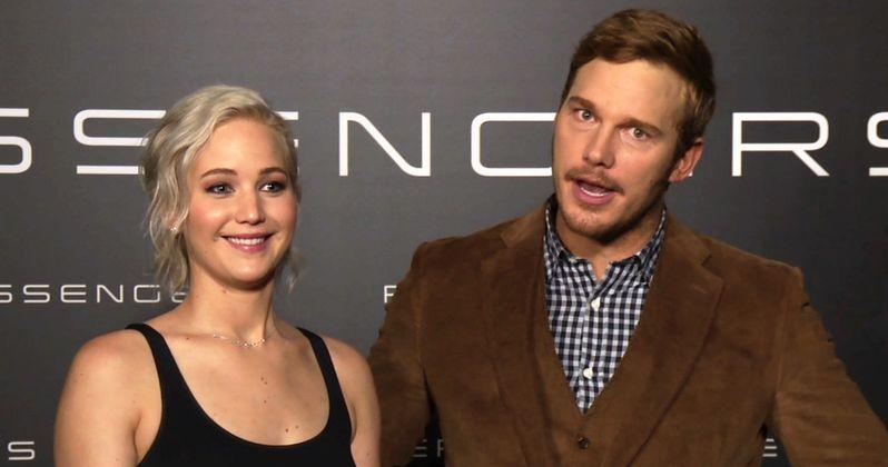 Jennifer Lawrence & Chris Pratt Talk Passengers Sci-Fi Plot