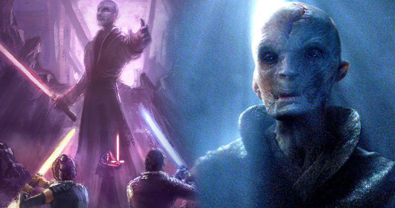Big Snoke Mystery Won't Unravel Until Star Wars 9?