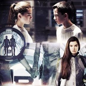 Ender's Game Petra and Ender Poster