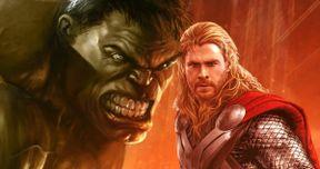 Thor 3 Is a Planet Hulk Mashup, Hulk & Thor Will Get New Looks