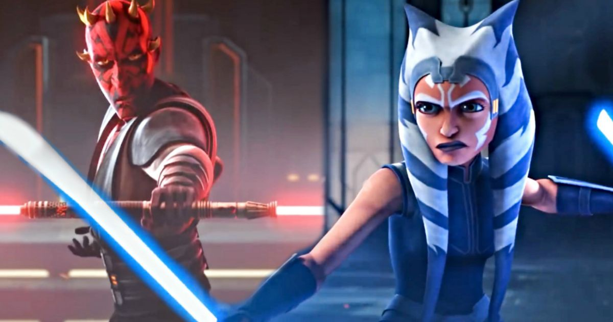 Star Wars: The Clone Wars Season 7 Trailer Teases Epic Ahsoka Vs. Maul Fight