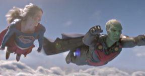 Martian Manhunter and Kara Take Flight in 2 Supergirl Clips