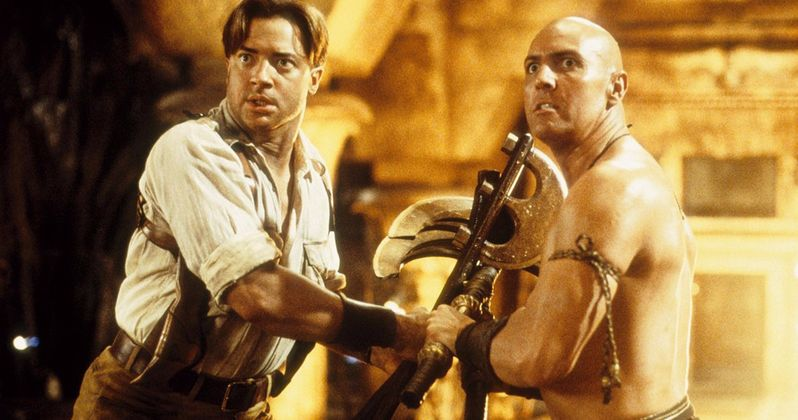 Brendan Fraser Is All in for Another Mummy Movie as Long as It's Fun