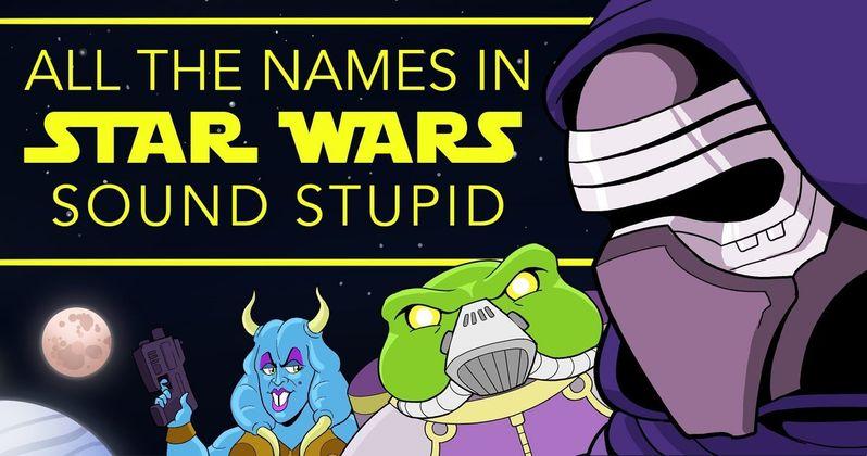 Nerd Alert: Stupid Star Wars Names & DIY TR-8R Stormtrooper Baton