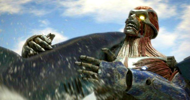 Mega Shark Vs. Kolossus Trailer Has Insane Robot Action!