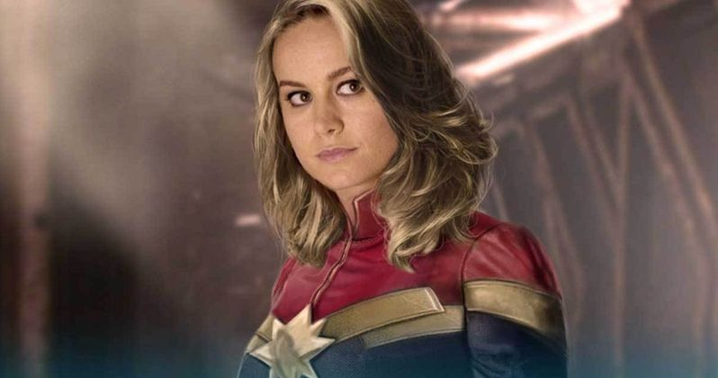 What the New Captain Marvel Suit Looks Like in Classic Colors