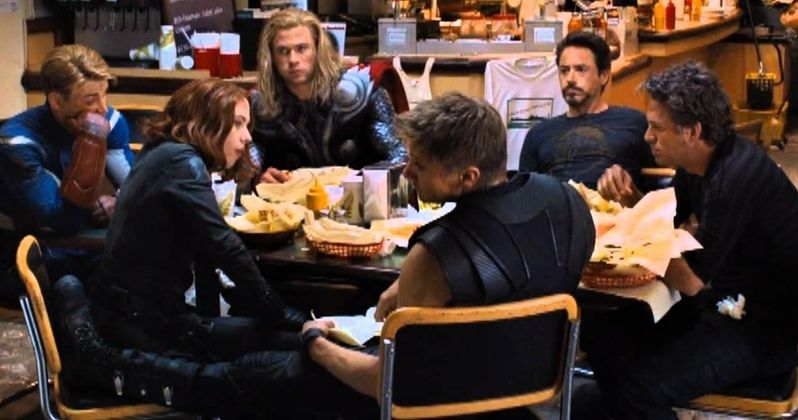 Infinity War Fan-Art Unites the Avengers at The Last Shawarma