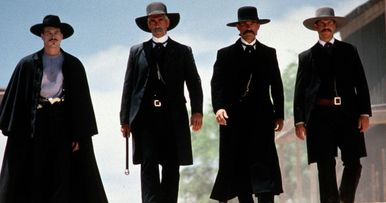 40d1a616376c2 Tombstone Was Mostly Directed by Kurt Russell Claims Val Kilmer
