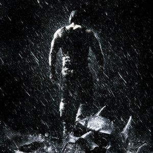 Christian Bale Visits Trump Tower on The Dark Knight Rises Set