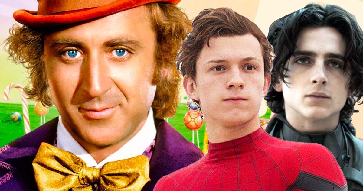 Приквел к фильму «Вилли Вонка» состоится в 2023 году, Том Холланд и Тимоти Шаламе на глазах у звезды