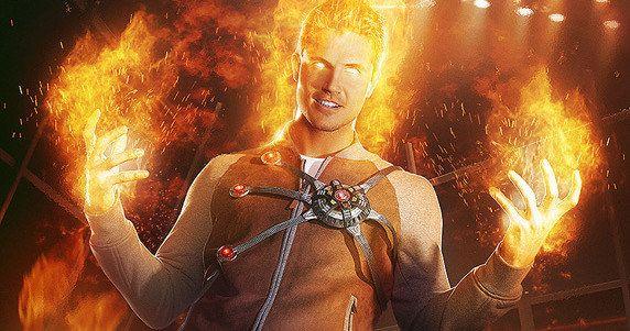 The Flash Firestorm Superhero Fight Club Poster