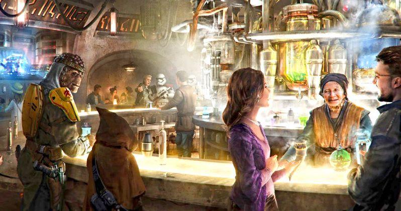 Star Wars: Galaxy's Edge Cantina Will Bring Booze to Disneyland