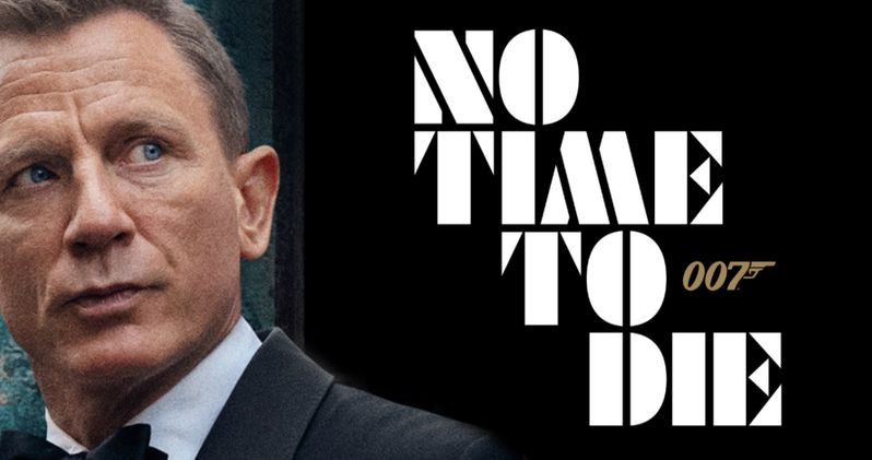 No Time to Die Poster Has James Bond Dressed to Kill One Last Time