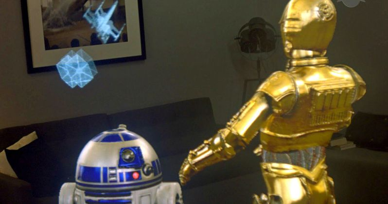 Star Wars Goes Beyond VR with Augmented Reality Experience