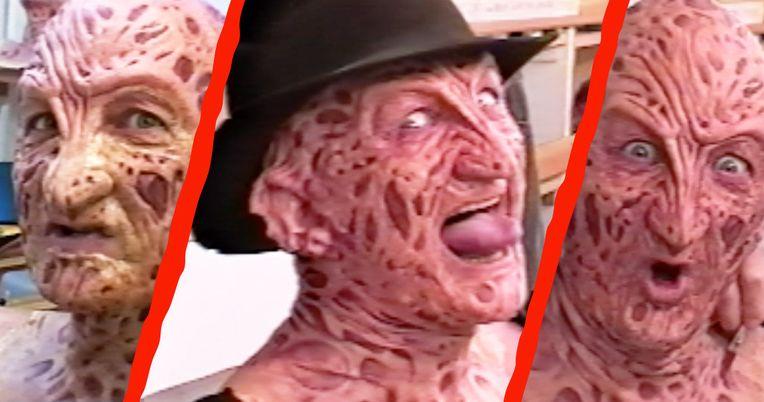 Unseen Freddy Vs. Jason Robert Englund Make-Up Chair Interview [Exclusive]