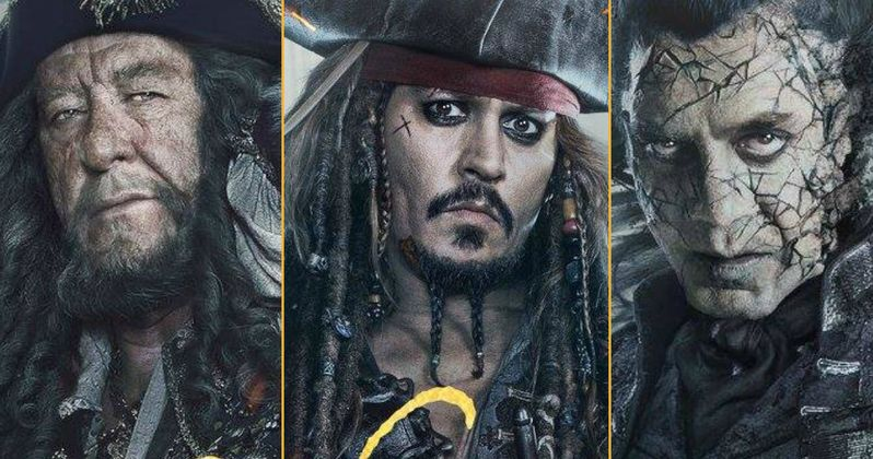 New Pirates of the Caribbean 5 Character Posters Wash Ashore