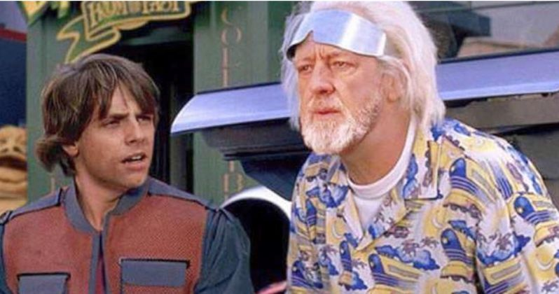 Amazing Empire Strikes Back to the Future Mashup Shared by Mark Hamill