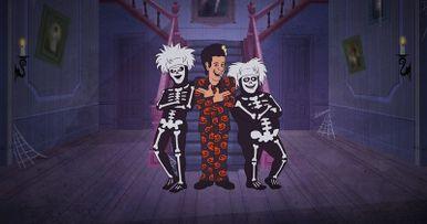 Tom Hanks' David S. Pumpkins Returns in Animated Halloween Special