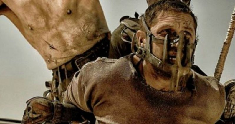 New Mad Max: Fury Road Photos Find Tom Hardy in Trouble