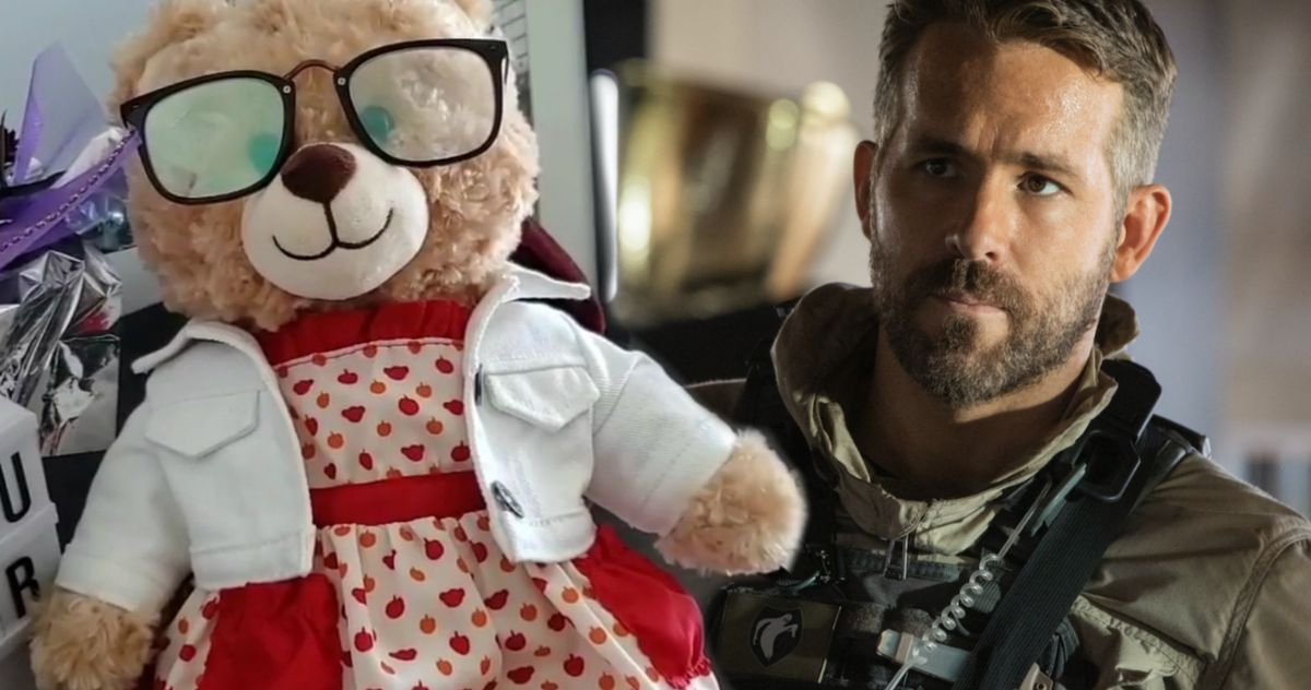 Ryan Reynolds Reward Stolen Stuffed Bear