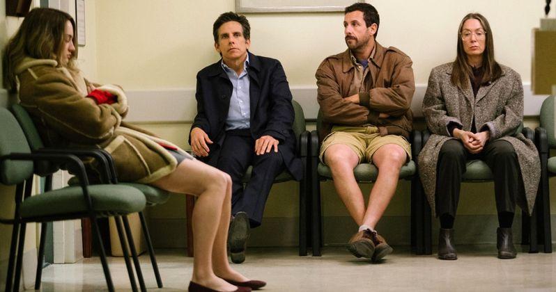 Meyerowitz Stories Trailer Unites Adam Sandler, Ben Stiller & Dustin Hoffman