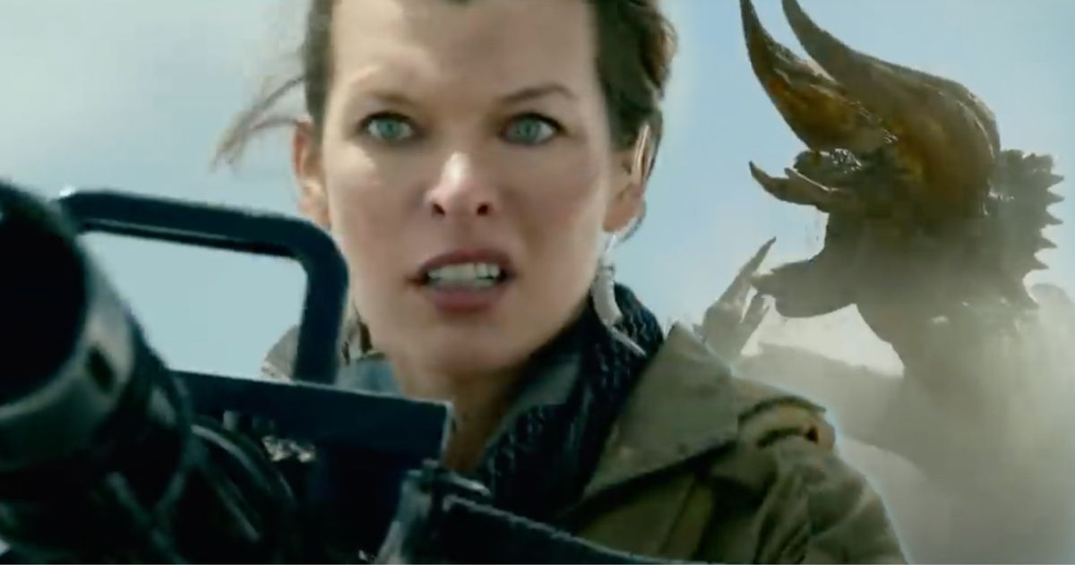 First Monster Hunter Footage Arrives Milla Jovovich Will Storm Theaters This Christmas