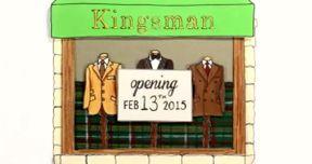Kingsman Animated Trailer from Illustrator Rachel Ryle