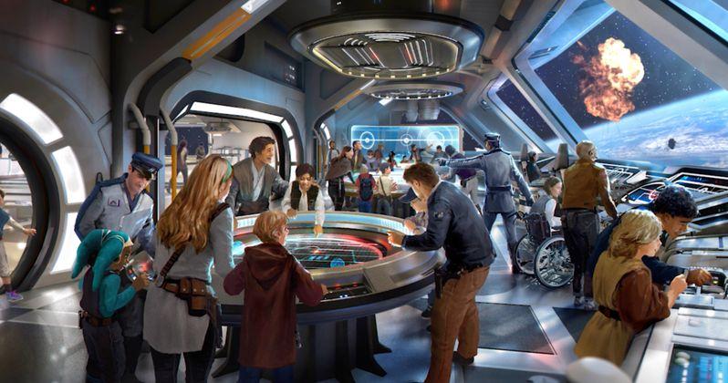 Go Inside the Star Wars Galactic Starcruiser Resort at Disney World